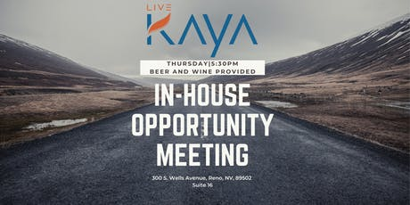 LiveKAYA In-House Opportunity Meeting tickets
