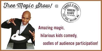 Magical Family Fun Day at Finagle A Bagel - Jan 14, 2020