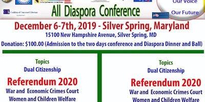 All Diaspora Confernce