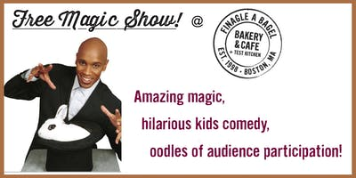 Magical Family Fun Day at Finagle A Bagel - March 10, 2020