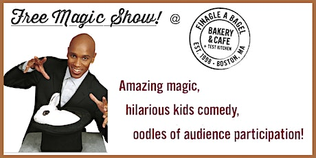 Magical Family Fun Day at Finagle A Bagel - June 9, 2020 tickets