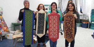 Beginning Sewing Class: Placemats