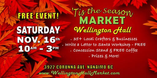 'Tis the Season Market at Wellington Hall