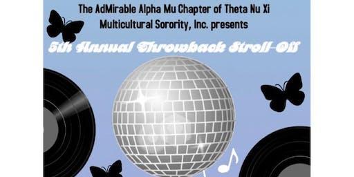 Theta Nu Xi Multicultural Sorority Inc. 5th Annual Throwback Stroll Off