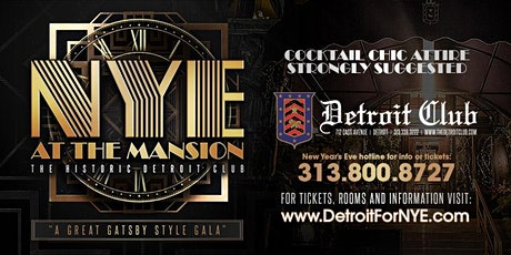 NYE 2020 at The Mansion tickets