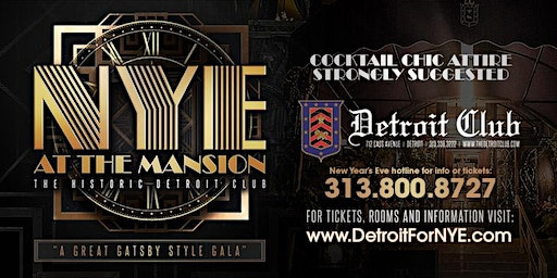 NYE 2020 at The Mansion