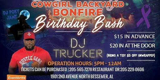 Chef Julia May Annual Birthday Bash Featuring DJ Trucker