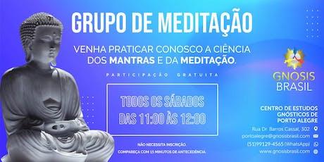 Grupo de Meditação ingressos