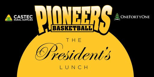 Pioneers Basketball Presidents Lunch
