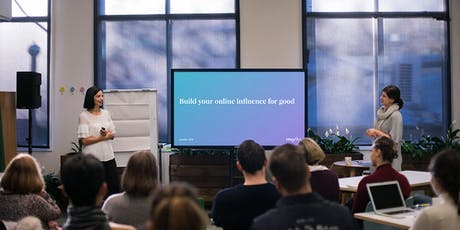 Masterclass: Building Your Online Influence for Good (Melbourne) tickets