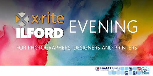 X-Rite & Ilford Evening with Carters Photographics