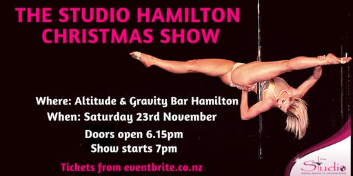 The Studio Hamilton Christmas Show