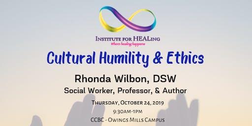 Cultural Humility & Ethics