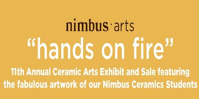 """Hands on Fire"" 11th Annual Ceramic Arts Exhibit and Sale"
