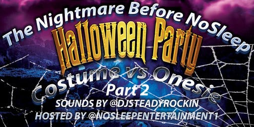 halloween costume/ onesie party