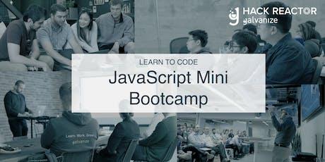 JavaScript Mini Bootcamp tickets