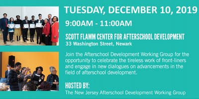 Afterschool Development Working Group: Special Appreciation Breakfast