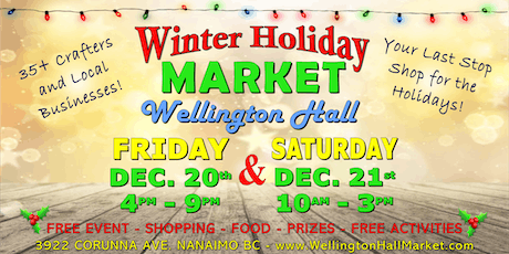 Winter Holiday Market at Wellington Hall tickets