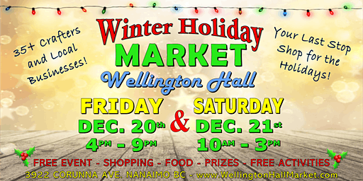 Winter Holiday Market at Wellington Hall