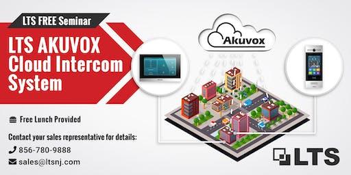 LTS Seminar: Akuvox Cloud Intercom in NJ