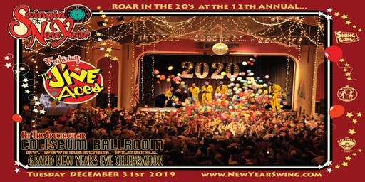 New Year's Eve Celebration at the Spectacular Coliseum - VIP Front of House