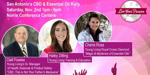 Young Living Rally and CBD/Essential Oil Expo