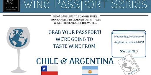 Wine Tasting Passport Series