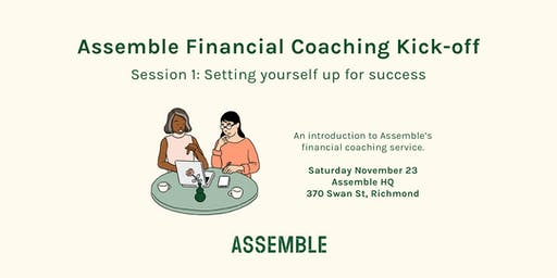 Assemble financial coaching kick-off