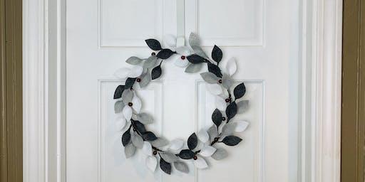 Winter Berry Wreath Class