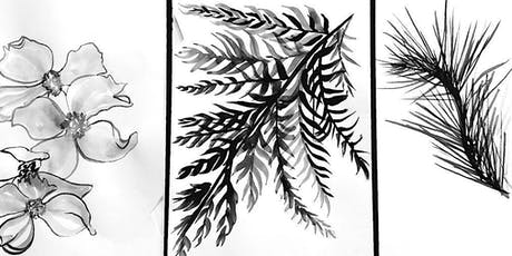 Beginning Sumi-E-Ink Paintings on Rice Paper tickets