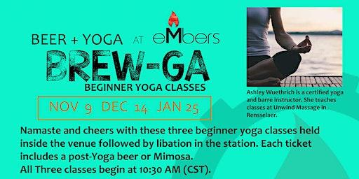 Beer + Yoga = Brew-Ga at eMbers