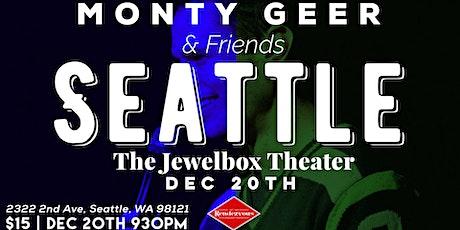 Monty Geer & Friends tickets