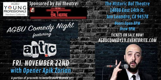 AGBU Comedy Night Feat. Antic 2.0!