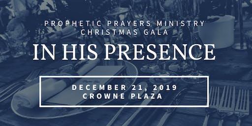 Prophetic Prayers 2019 Christmas Gala