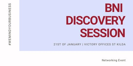 BNI | Discovery Session tickets