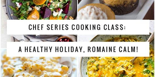 """Holiday Chef Series Cooking Class: Chef Shawn """"The Fat Pastor"""" and Elaina Moon"""