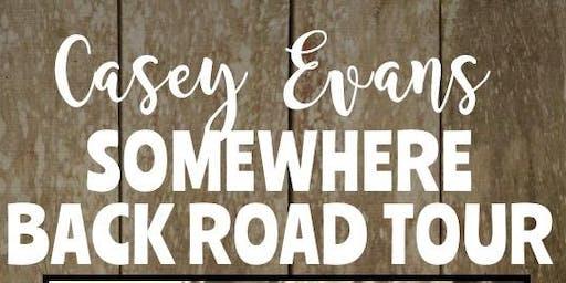 Casey Evans Somewhere Back Road Tour Alexandra