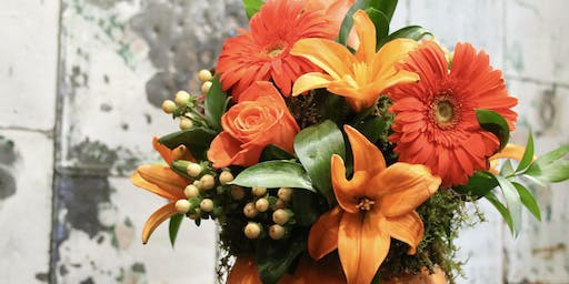Pumpkins, Flowers and Wine...oh my!