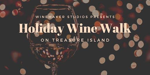 Holiday Wine Walk on Treasure Island