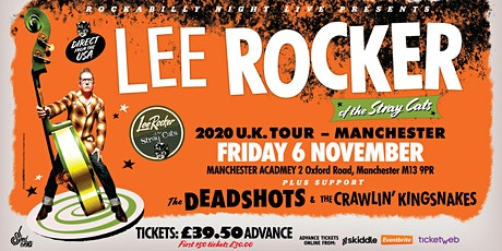 Lee Rocker (of The Stray Cats) + The Deadshots & The Crawlin' Kingsnakes tickets