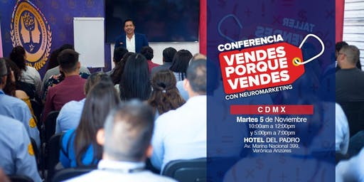 Conferencia Vendes porque Vendes CDMX