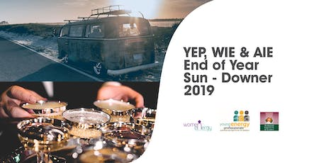YEP, WIE & AIE End Of Year Sun-downer 2019  tickets