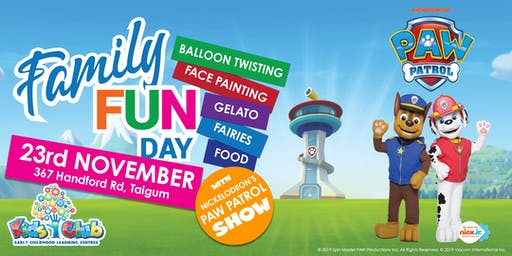 Nickelodeon's PAW Patrol Show @ Kids Club Taigum Family Fun Day!