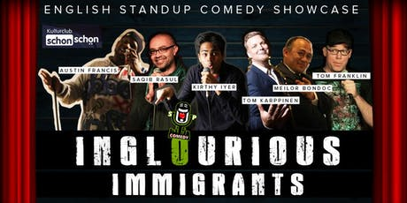 Inglourious Immigrants - English Comedy Showcase tickets