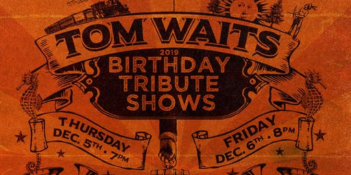 Tom Waits Repeal Prohibition Party
