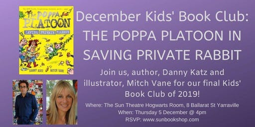 December Kids' Book Club - The Poppa Platoon 3 (AUTHORS ATTENDING)