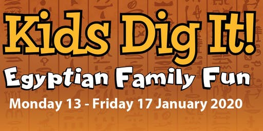 Kids Dig It! Egyptian Family Fun Week 2020