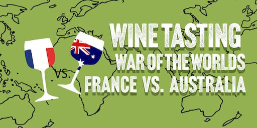 War of the Worlds Wine Tasting - France vs. Australia at HB&K