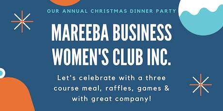 Mareeba Business Women's Club Annual Christmas Dinner Party tickets