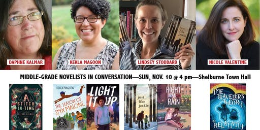 Authors in Conversation: Four fantastic writers for middle-grade readers